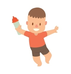 Baby kid vector image