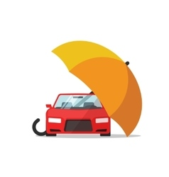 Car insurance concept auto protection vector