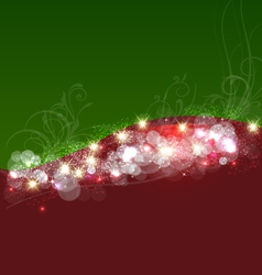 Christmas background template card vector