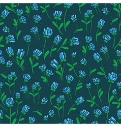 Floral decorative seamless vector
