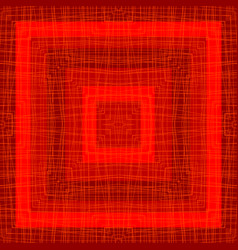 geometrical background with red squares and vector image