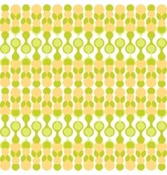Greenish metaball seamless pattern vector