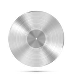 lp platinum record icon gramophone music object vector image