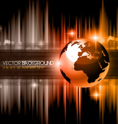 High Tech business background vector image vector image