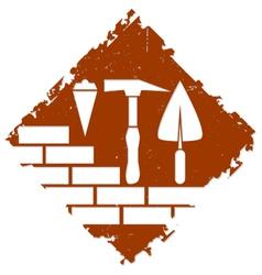 Construction symbol design vector image vector image