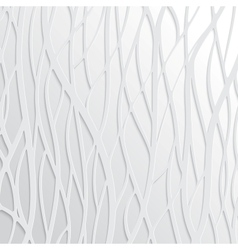 Abstract White Wavy Background vector