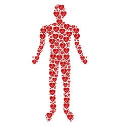 cardiology human figure vector image