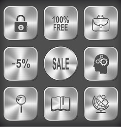 closed lock 100 free briefcase -5 sale human brain vector image