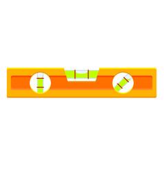 Colorful cartoon level tool vector