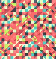 Orange and Blue pattern vector image