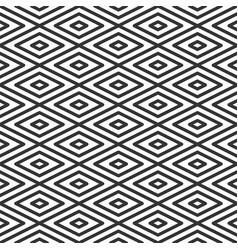 rhombic tile geometric seamless pattern vector image