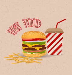 Set of Hamburger 1 vector