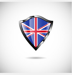Shield england vector