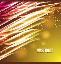 shiny motion abstract background vector image