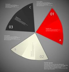Three paper pieces on dark vector