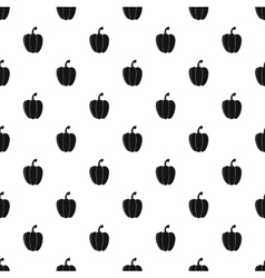 Bell pepper pattern simple style vector