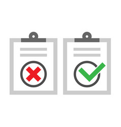 Checklist icons set vector