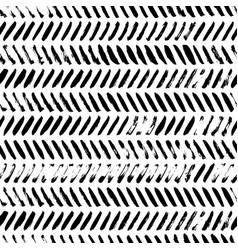 Grunge diagonal lines ink seamless pattern vector