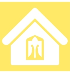 Home icon from Business Bicolor Set vector image