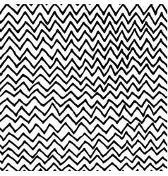 Irregular zig zag pattern vector