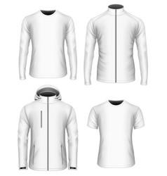 mens clothes vector image