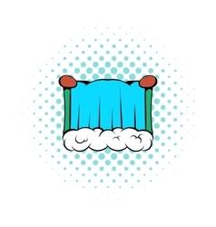 Niagara Falls icon comics style vector
