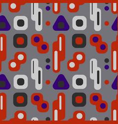 Nordic lights seamless pattern vector
