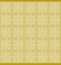 seamless background in oriental ethnic style vector image