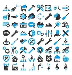 Service Tools Icon Set vector