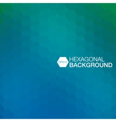 simple colorful background consisting of hexagons vector image