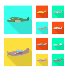 travel and airways symbol vector image