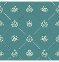 Wallpaper in royal baroque style vector image vector image