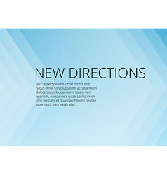 Abstract blue arrows background with copyspace vector image
