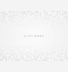 abstract gray pattern random dot halftone design vector image