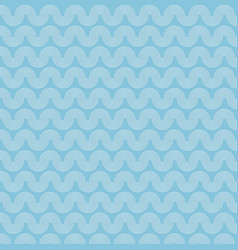 abstract sea ocean water wave blue and white vector image