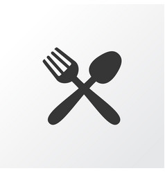 food icon symbol premium quality isolated vector image