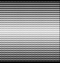 halftone seamless pattern black white zig zag vector image