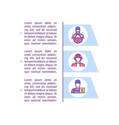 High risk industries concept icon with text vector