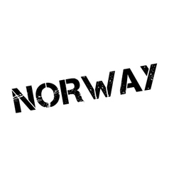Norway rubber stamp vector