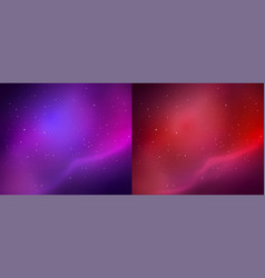 Outer space backgrounds vector