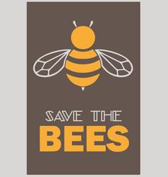 Savethebees vector