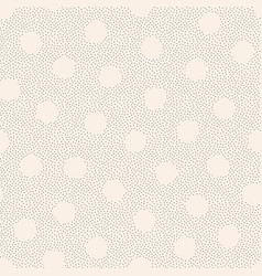seamless dotted pattern beige decorative vector image