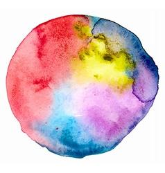 Watercolor spot vector