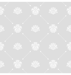 Seamless wedding background vector