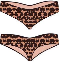 underpants vector image