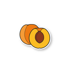 Apricot patch vector