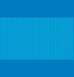 Brushed metal aluminum blue light metallic vector