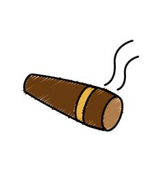 Cigar icon image vector