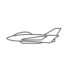 Design aeroplane and commercial sign vector