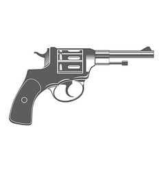 Gun Isolated Design Elements vector image